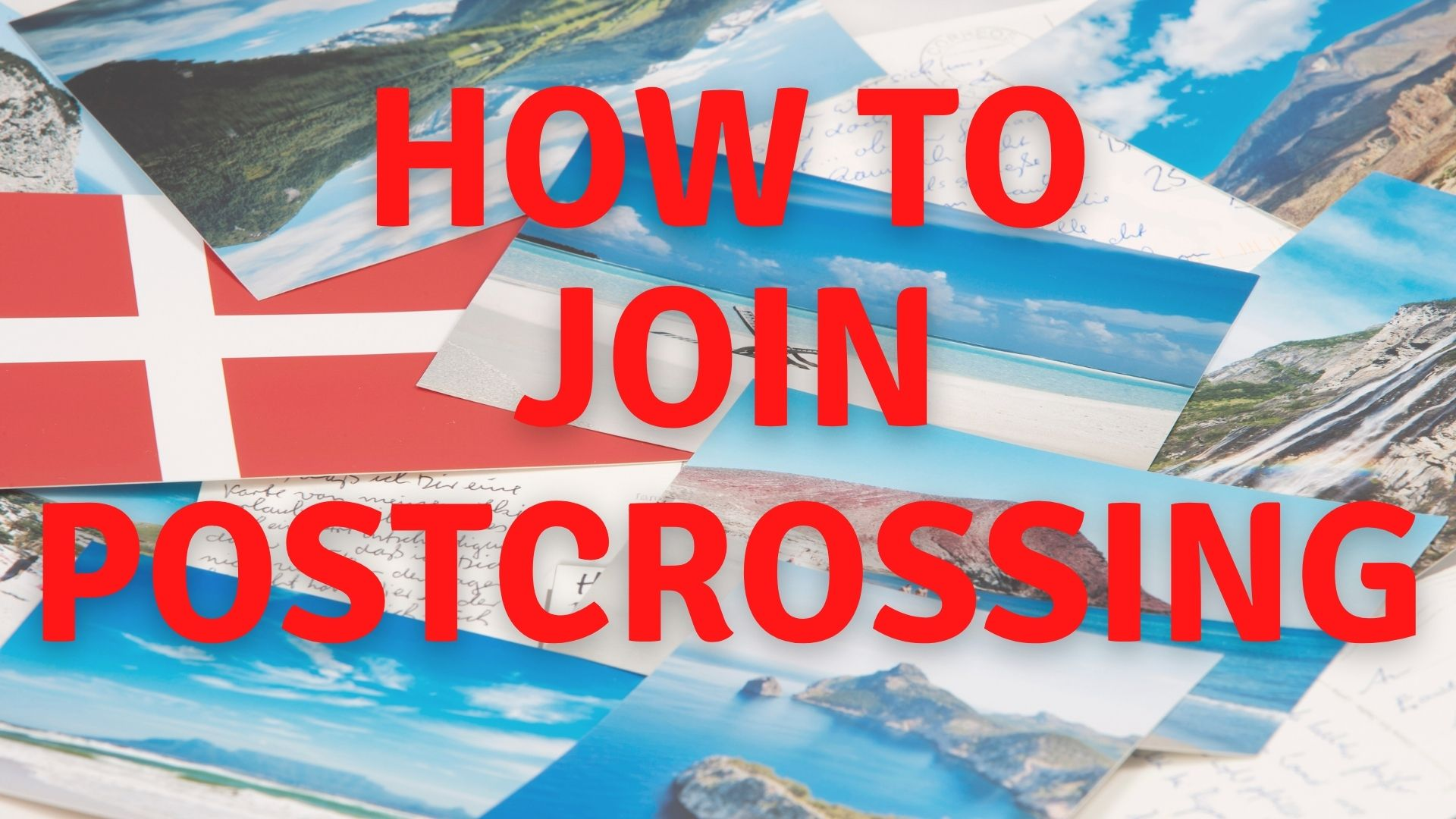 how to join postcrossing